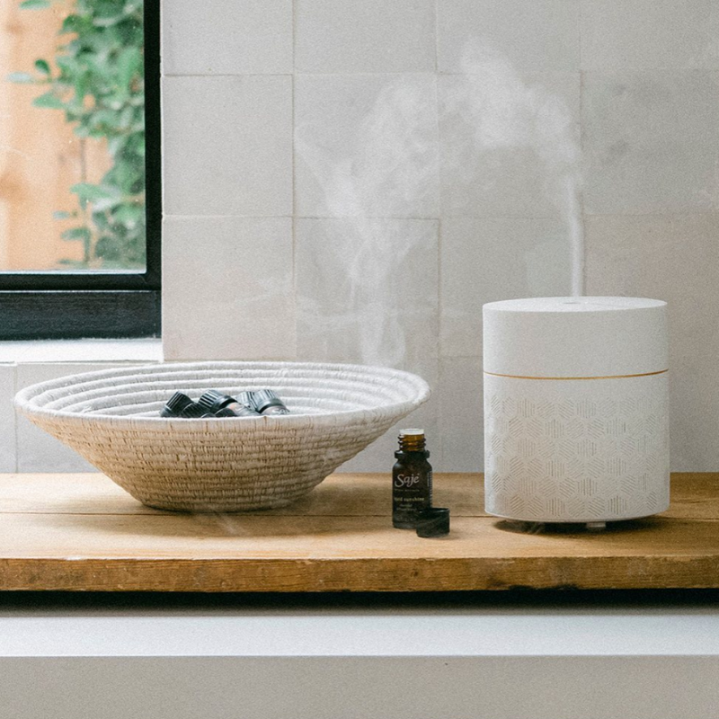 Diffuser & oils from Saje Natural Wellness