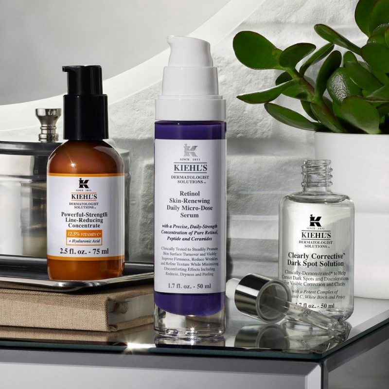 skincare serums from Kiehl's