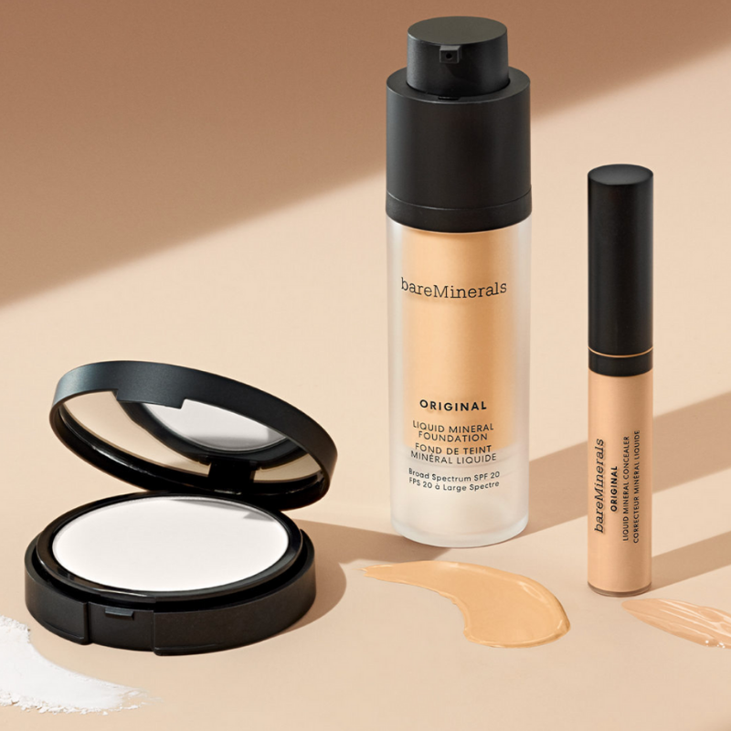 Bare Minerals face makeup from Sephora
