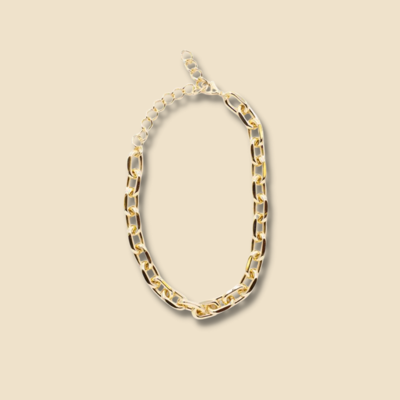 Honey gold chain necklace